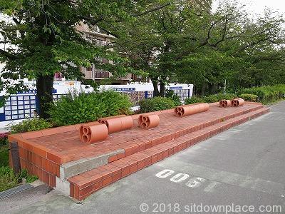 隅田公園のオススメの座れる休憩場所