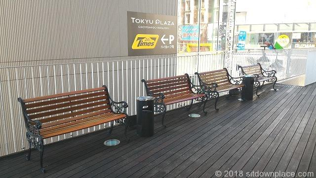 原宿YMスクウェア2F休憩所