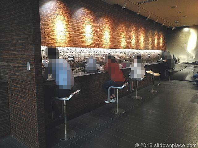新宿三井ビルB1Fの喫煙所