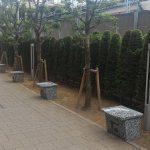 【秋葉原駅】中央改札側 マクドナルド裏手の休憩場所