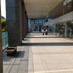 【新宿駅】ニトリ前 デッキ通路