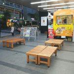 【吉祥寺駅】ヨドバシカメラ前の休憩場所