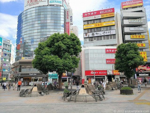 赤羽駅東口広場