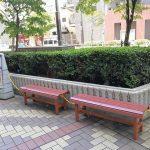 【赤羽駅】パルロード2 中央口前の休憩場所