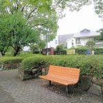 【分倍河原駅】片町公園 新田義貞像付近の休憩場所