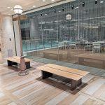 【川崎駅】アトレ4F 有隣堂前の休憩場所