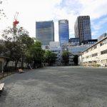 【茅場町駅】坂本町公園の休憩場所