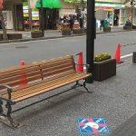 【吉祥寺駅】吉祥寺駅前 平和通りの休憩場所