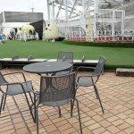 【吉祥寺駅】東急百貨店 屋上 太陽の広場の休憩場所