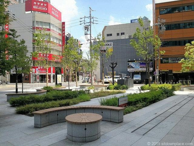 大名古屋パークの休憩場所
