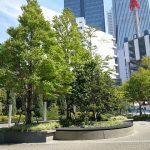【名古屋駅】ルーセントタワー公開空地の休憩場所