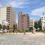 【名古屋駅】牧野公園の休憩場所