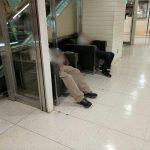 【名古屋駅】名鉄メンズ館 エスカレーター横の休憩場所