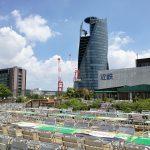 【名古屋駅】名鉄屋上庭園「マイフェアガーデン」の休憩場所