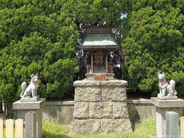 名鉄本館屋上英国式庭園マイフェアガーデンの神社