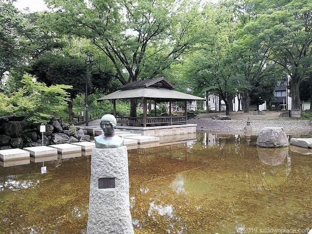 下園公園の庭園