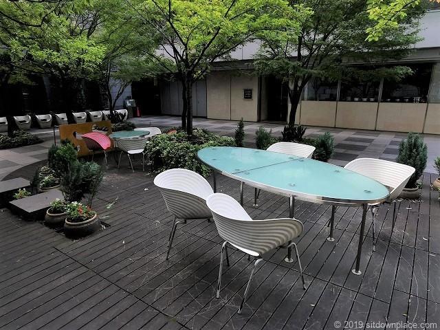 コレド日本橋ANNEXのテーブル席