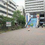 【新潟駅】万代口バスターミナル付近の休憩場所