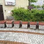 【新潟駅】プラーカ3前の休憩場所