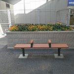 【登戸駅】小田急側 ロータリー前の休憩場所