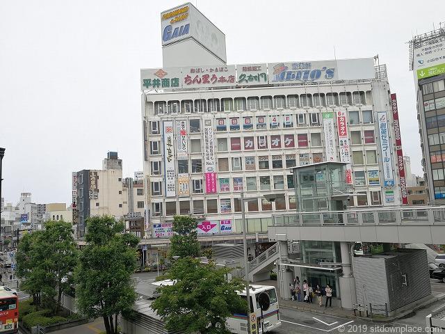 小田原駅ペデストリアンデッキからの景観