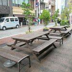 【小田原駅】Odakyu OX前の休憩場所