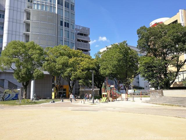 矢場公園の遊具