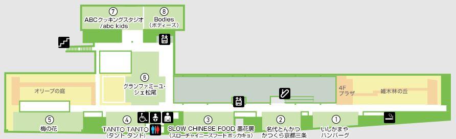 成城コルティ公式 4Fフロアガイド