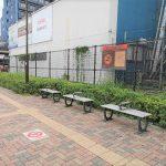 【成城学園前駅】西口ロータリ前の休憩場所