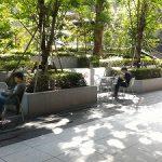 【御茶ノ水駅】ソラシティ-ワテラス 連絡通路の休憩場所