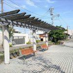 【富山駅】いたち川沿いの休憩場所