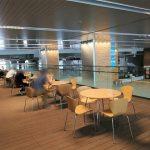 【富山駅】新幹線中央改札口前 2Fデッキの休憩場所