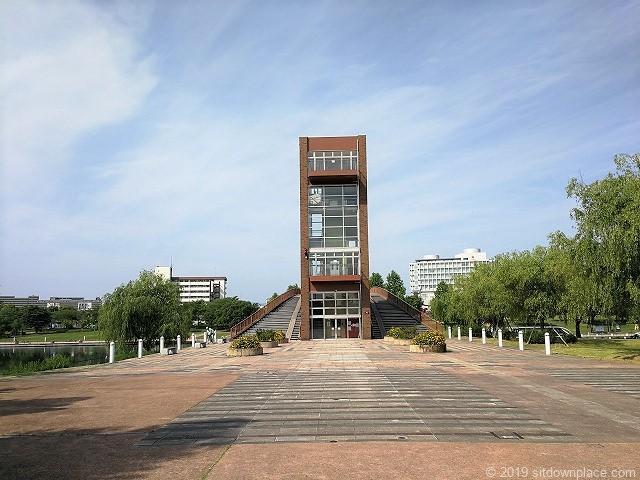 環水公園カナルパークの天門橋