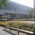 【富山駅】南口駅前広場の休憩場所