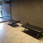 【淡路町駅】ワテラスモール2F 104.5カフェ側出入口