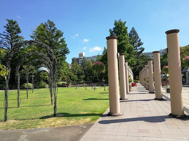 久屋大通庭園フラリエ中庭の景観