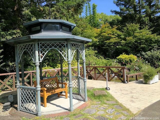 久屋大通庭園フラリエのガゼボ