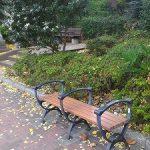 【四ツ谷駅】四ツ谷見附公園の休憩場所