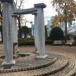 【四ツ谷駅】若葉東公園の休憩場所