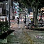 【逗子駅】駅前ロータリーの休憩場所