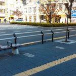 【北千住駅】東口ロータリー横の休憩場所