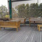【新宿駅】伊勢丹 屋上庭園 アイ・ガーデンの休憩場所