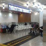【東京駅構内】東北新幹線北のりかえ9付近