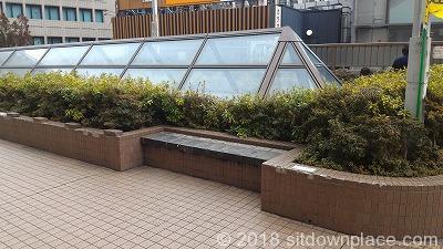 恵比寿駅東口公園