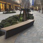 【日比谷駅】東京宝塚劇場前通りの休憩場所