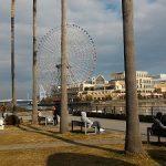 【桜木町駅】メモリアルパーク タワーC館付近の休憩場所