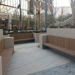 【日比谷駅】東京ミッドタウン日比谷前広場の休憩場所