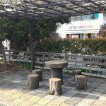 【鎌倉駅】鎌倉市役所横 リトルマーメイド前の休憩場所