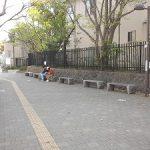 【鎌倉駅】鎌倉市役所 交番横の休憩場所