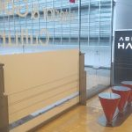 【天王寺駅】あべのHoop 4F,5F,6F 階段付近の休憩場所